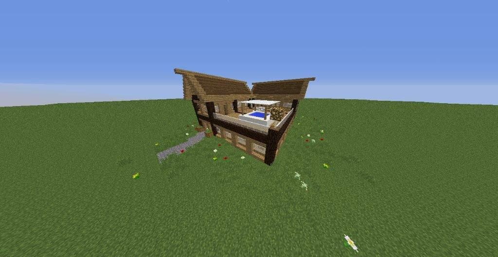 Simple Survival House Minecraft Amino