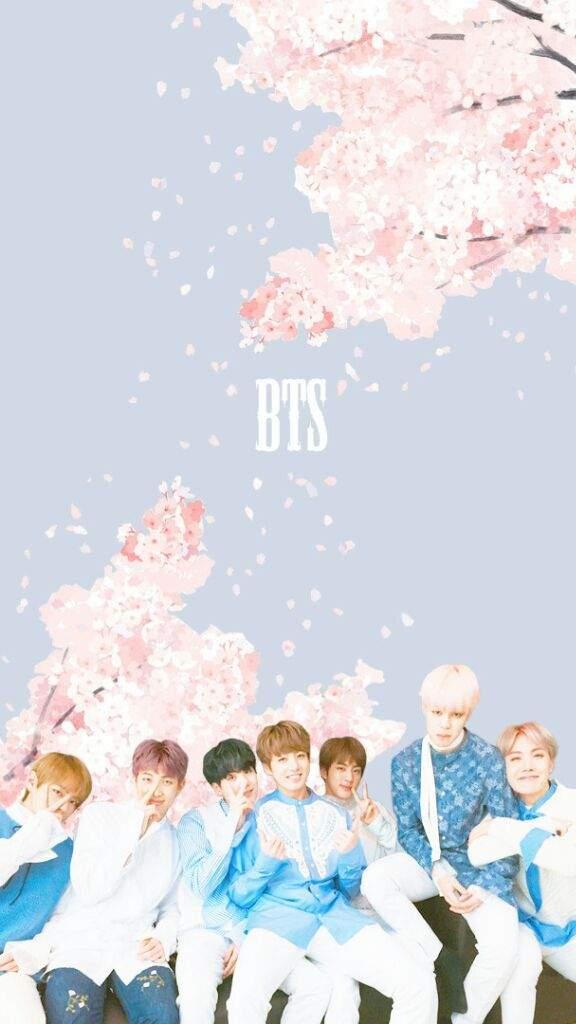 bts pastel wallpaper k