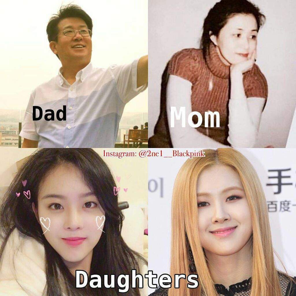 💙ROSÉ UPDATE💙) Rosé's Beautiful Mom Is Finally Revealed