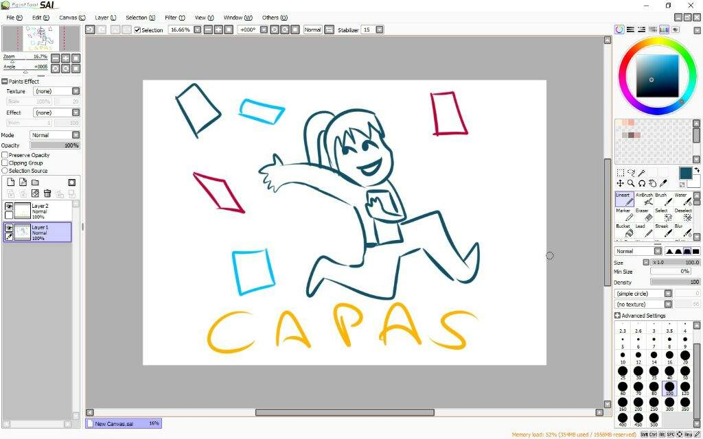 paint tool sai version completa