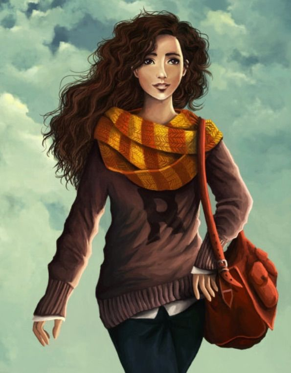 Image result for hermione granger fan art