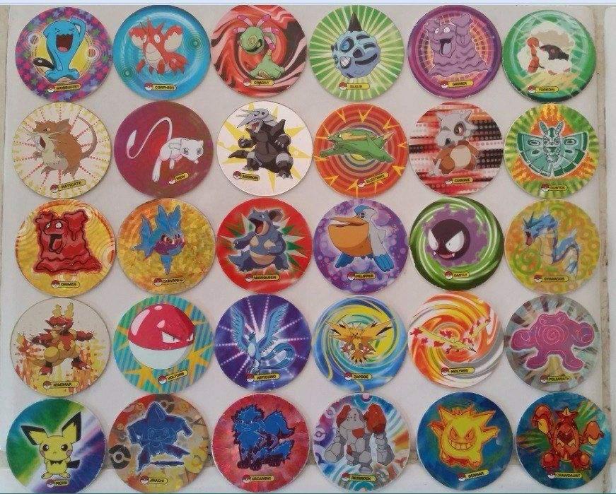 Resultado de imagen para tazos pokemon 2008