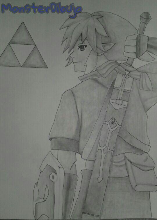 Dibujo De Link De Legend Of Zelda A Lapiz Arte Amino Amino
