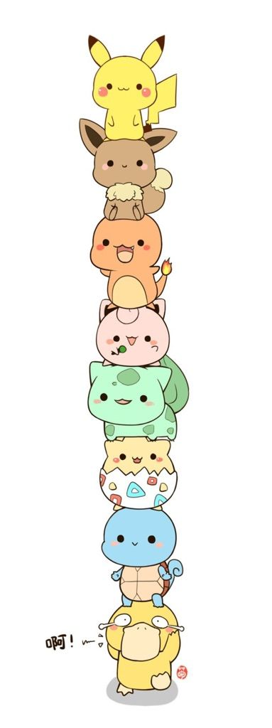 My First Post Super Cute Pokemon I Did Not Draw This Kawaii