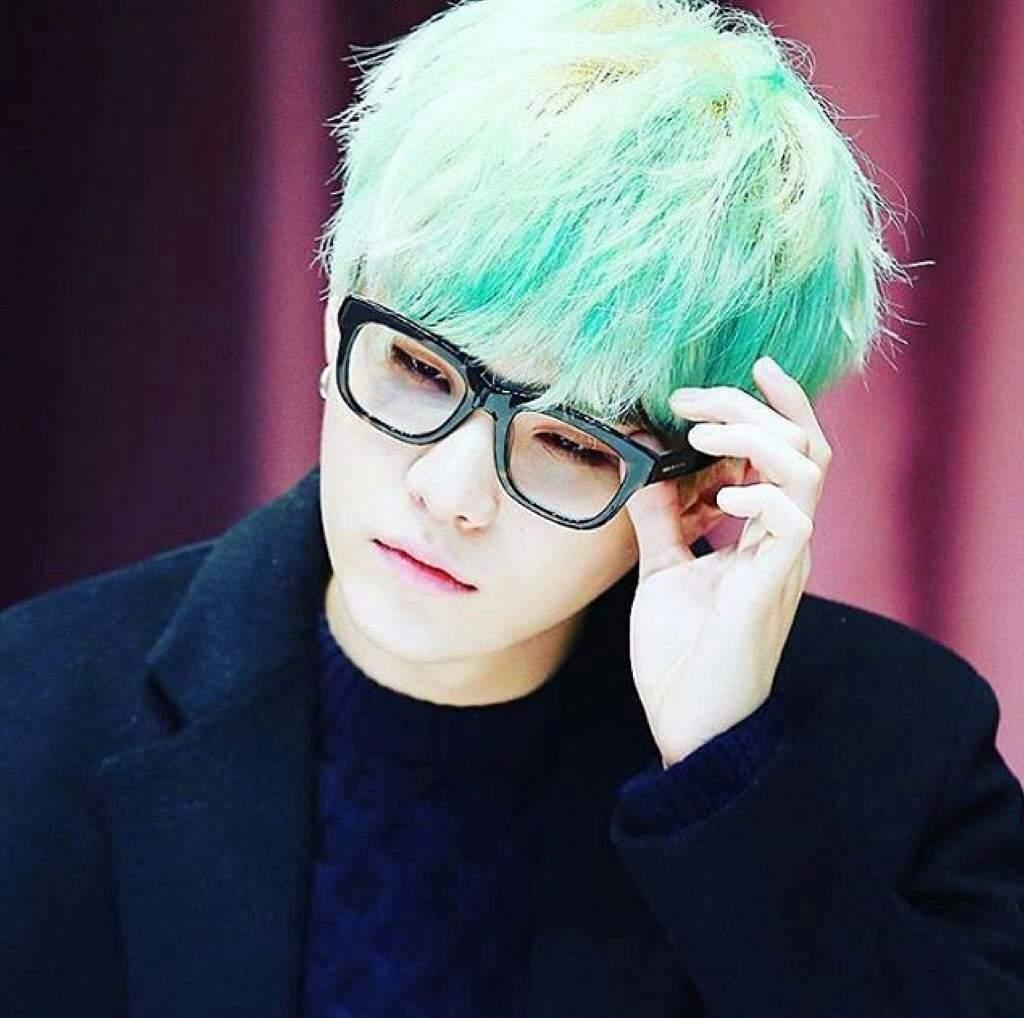 Suga Mint Green Hair