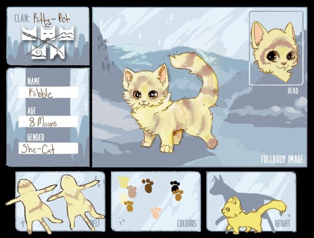 I go bored and made a Warrior Cats OC | Furry Amino