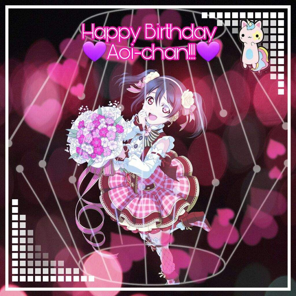 Happy Birthday And Love Live Edit