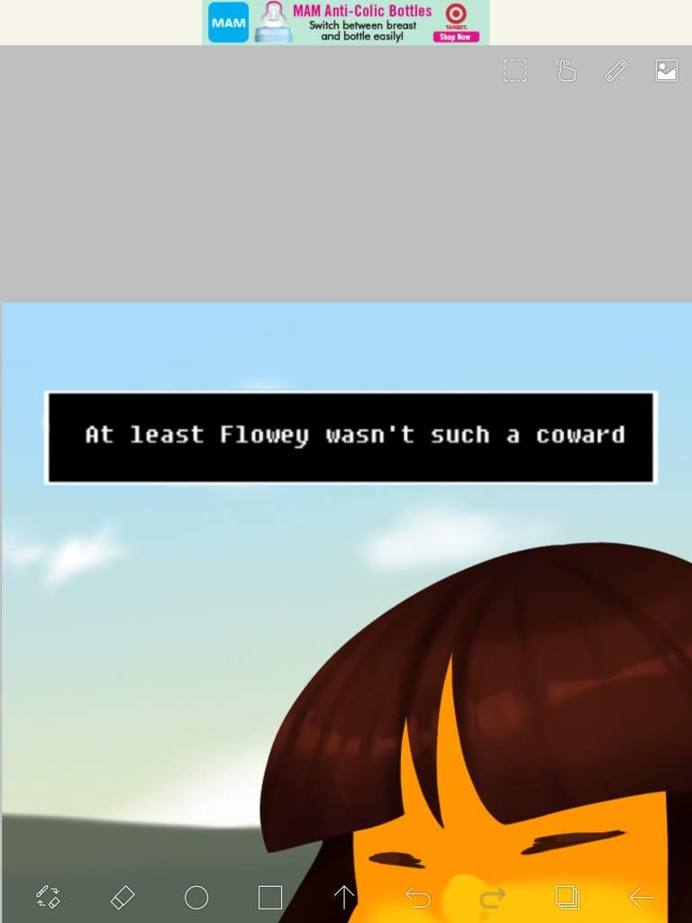 At least Flowey wasn't such a coward