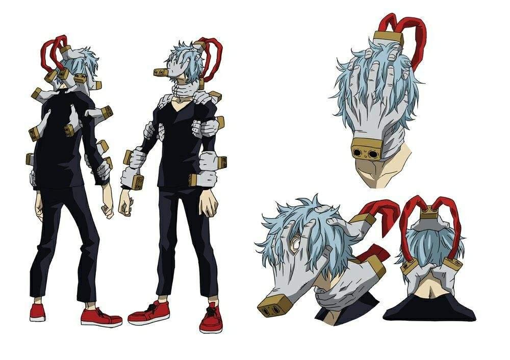 Shigaraki character design