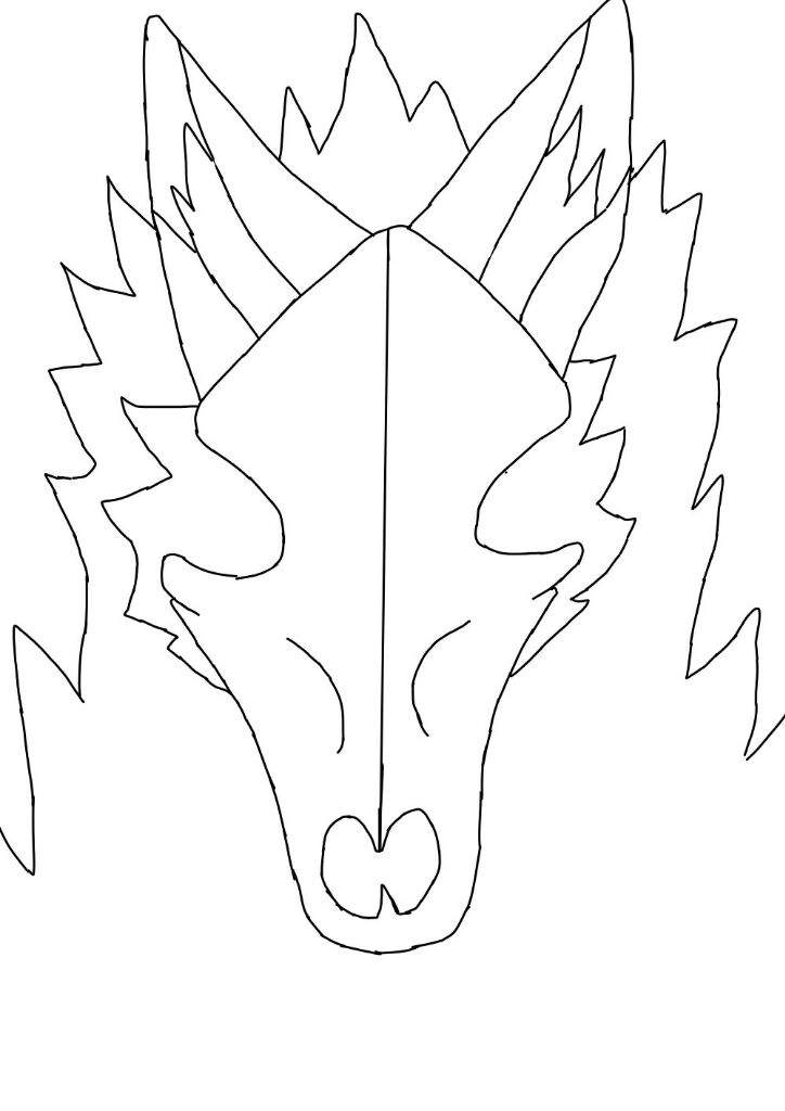 Free simple skulldog base | Furry Amino