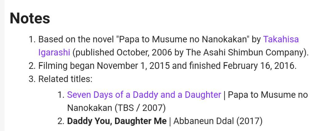 Daddy You Daughter Me Wiki Asian Dramas And Movies Amino