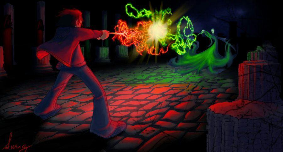 Expelliarmus Vs Avada Kedavra Hogwarts World Amino