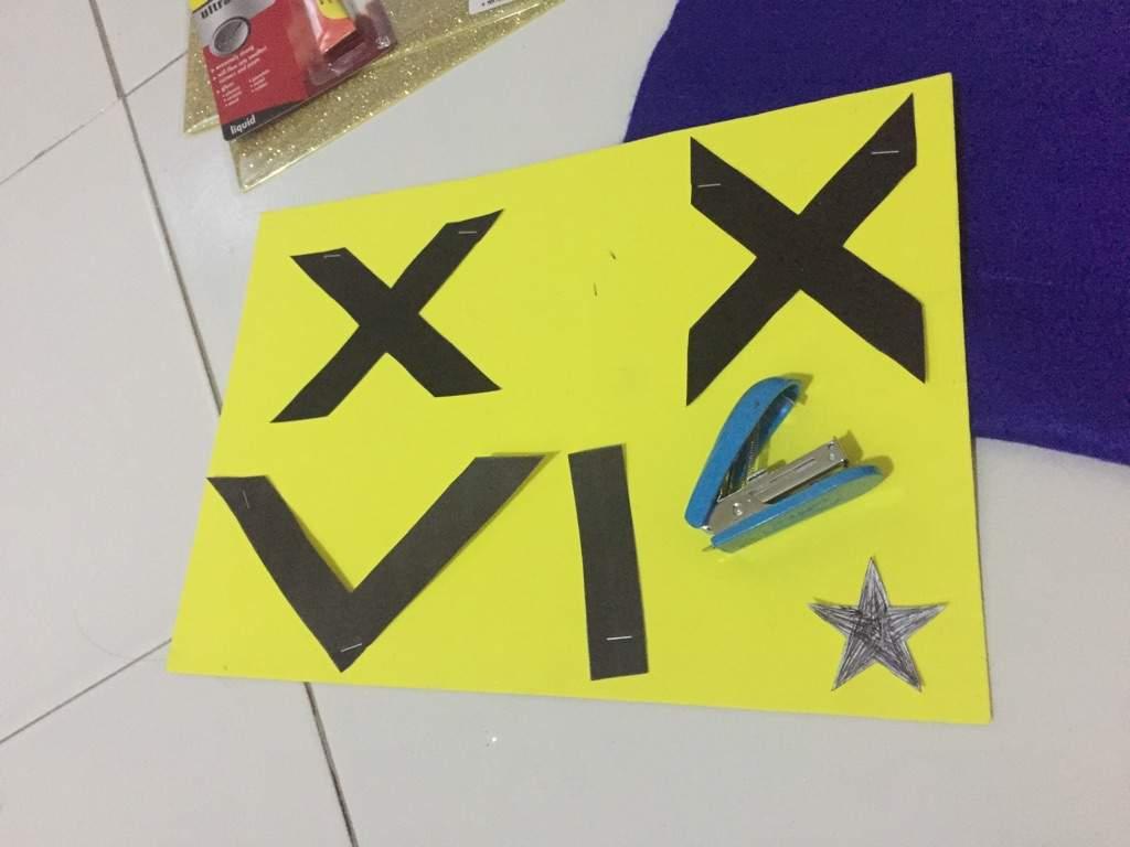 DIY VIXX Fan Banner @ Slogan Towel | VIXX Amino Amino