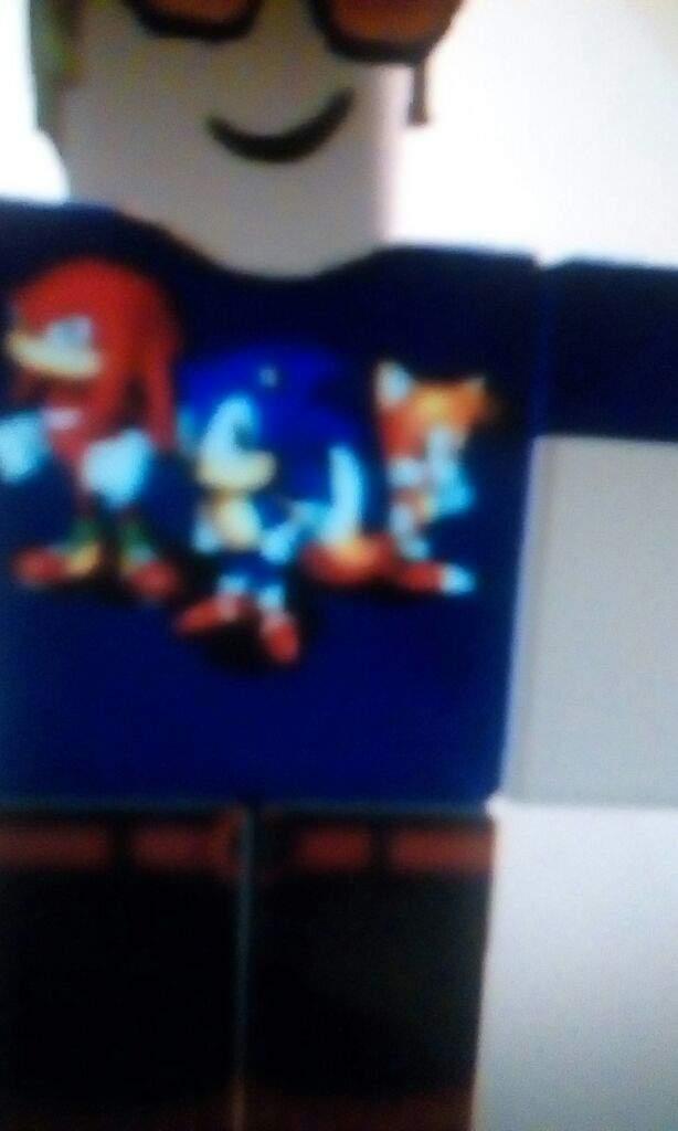 Sonic Mania Shirt On Roblox Sonic The Hedgehog Amino