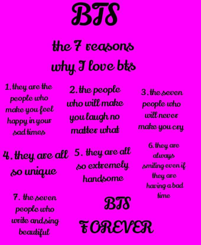 7 reasons why i love you