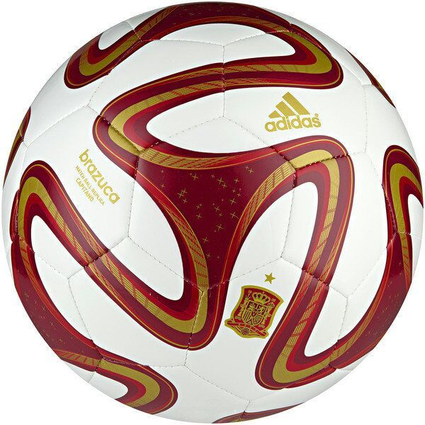 365fa573917e9 A bola Adidas Brazuca WC 14 Espanha foi inspirada na bola oficial da Copa do  Mundo 2014. O nome Brazuca foi escolhido pelos próprios brasileiros.