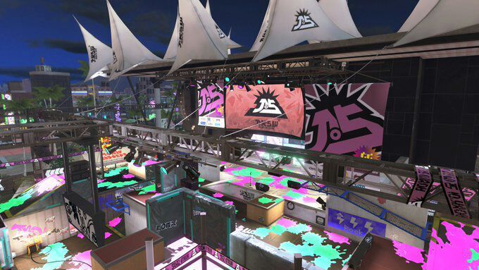 splatoon 2 splatfest world premiere all the stages and weapons