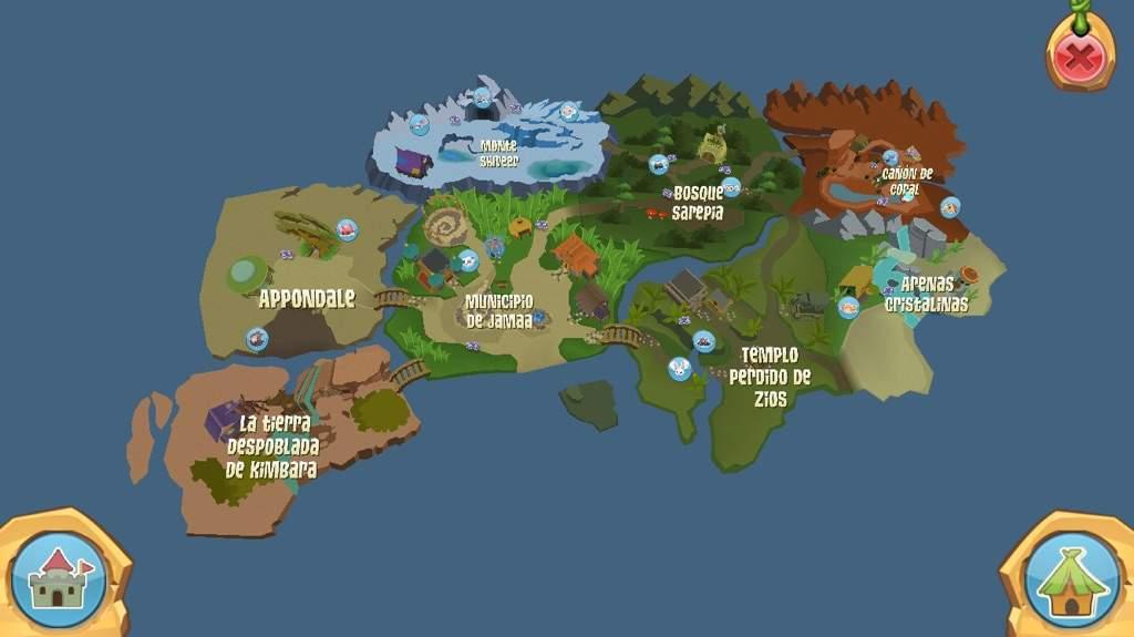 Animal Jam Map Map animal jam | AJ Amino Amino
