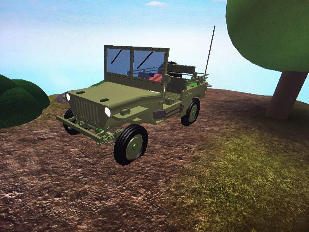 Roblox Building A Game Timelapse Building A Ww2 Jeep Roblox Amino