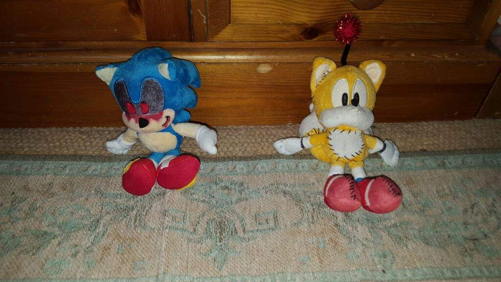 Tails Doll And Sonic.EXE Custom Plushies