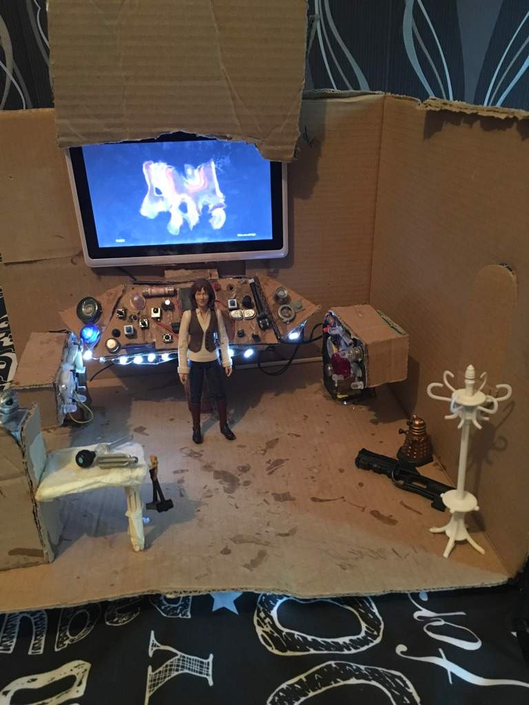 This Is A Sarah Jane Adventures Attic Set Can Someone Tell