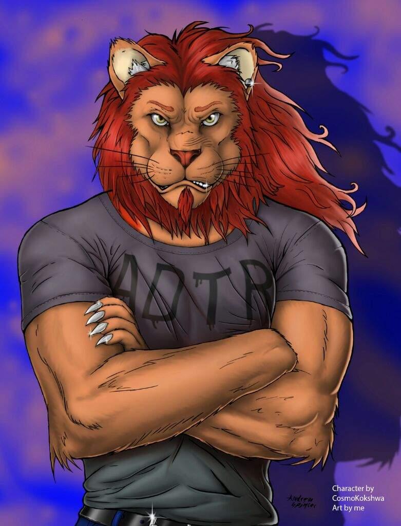 Фурри картинки львы