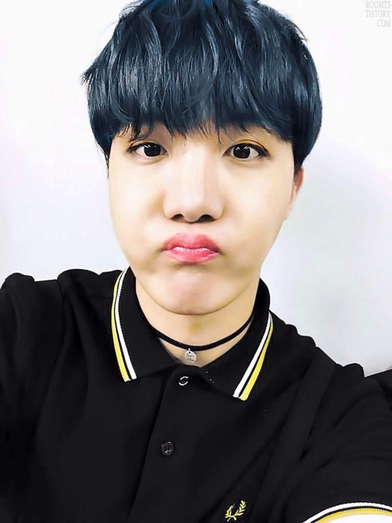 Jhope Blue Hair