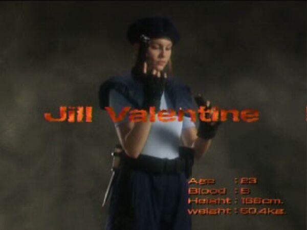 Original Jill Valentine Behind The Scenes Shots Extra
