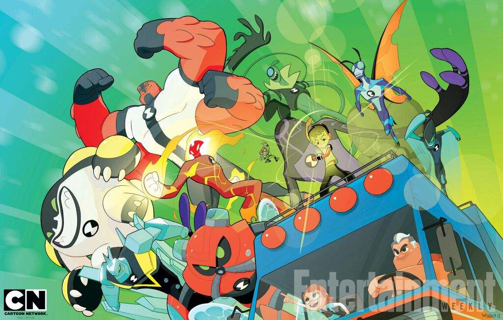 Guess What I Found Online       Ben 10 Reboot Epic Wallpaper