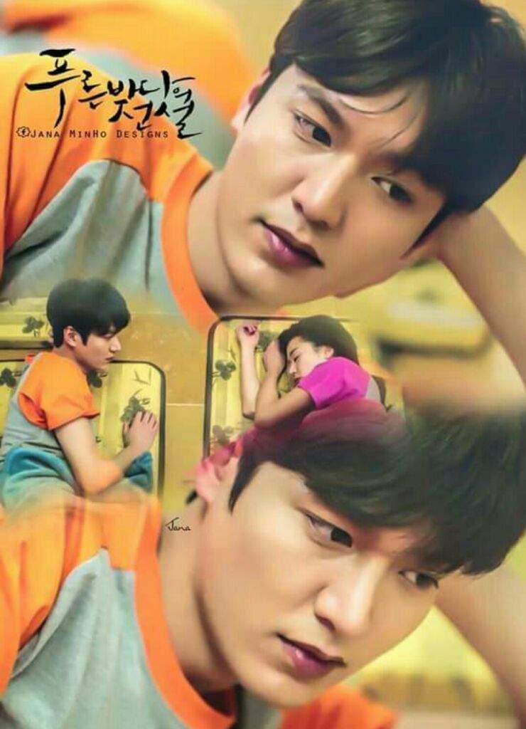 مسلسل اسطوره البحر الازرق اخر مسلسل عمله Lee Min Ho الدراما
