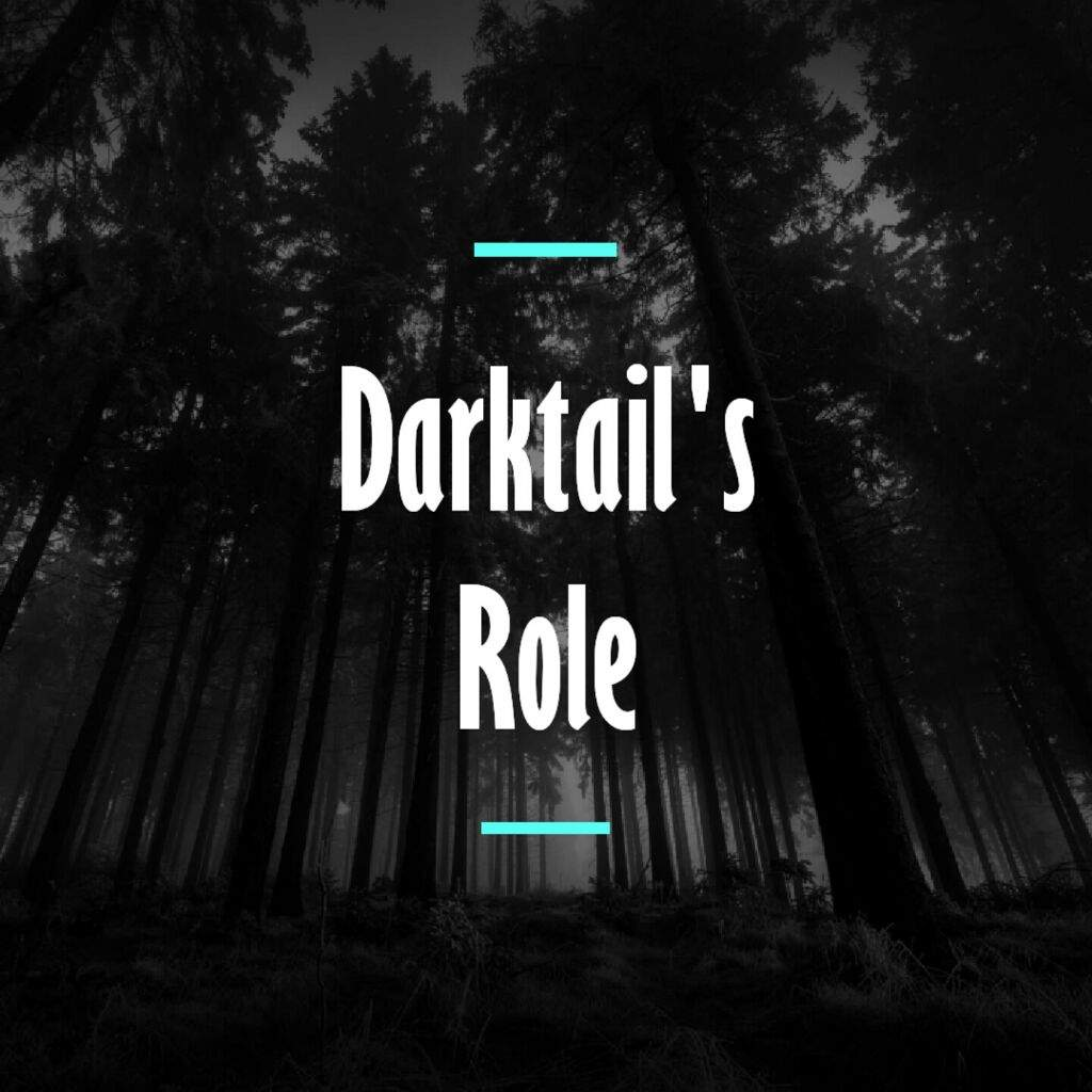 Warriors A Vision Of Shadows Book 1: Darktail's Role - Rant