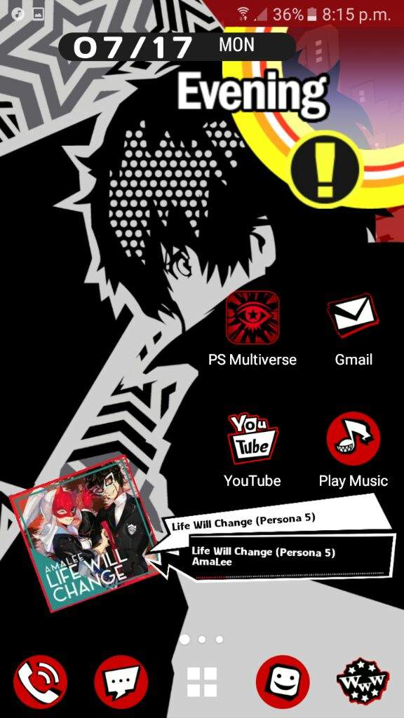 Persona 5 Android Theme! | SMT:Persona 5 Amino