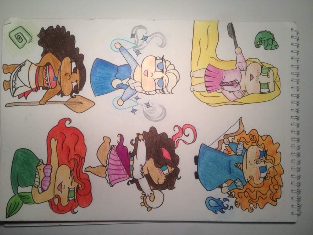 Disney Tsum Tsum Libro Para Colorear En Línea De Arte En: Dibujos A Lapiz De Princesas