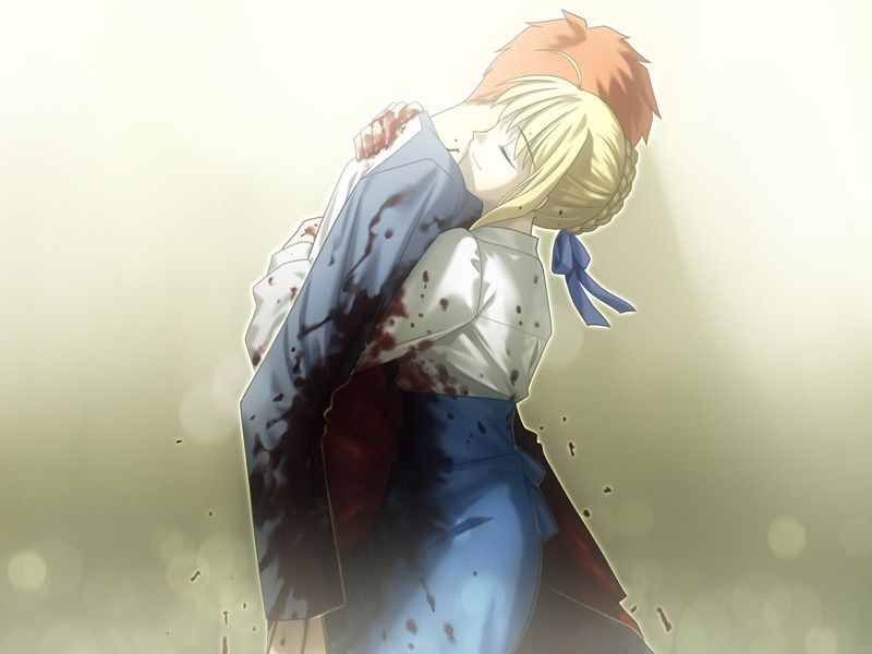 Image result for fate route shirou and saber sex