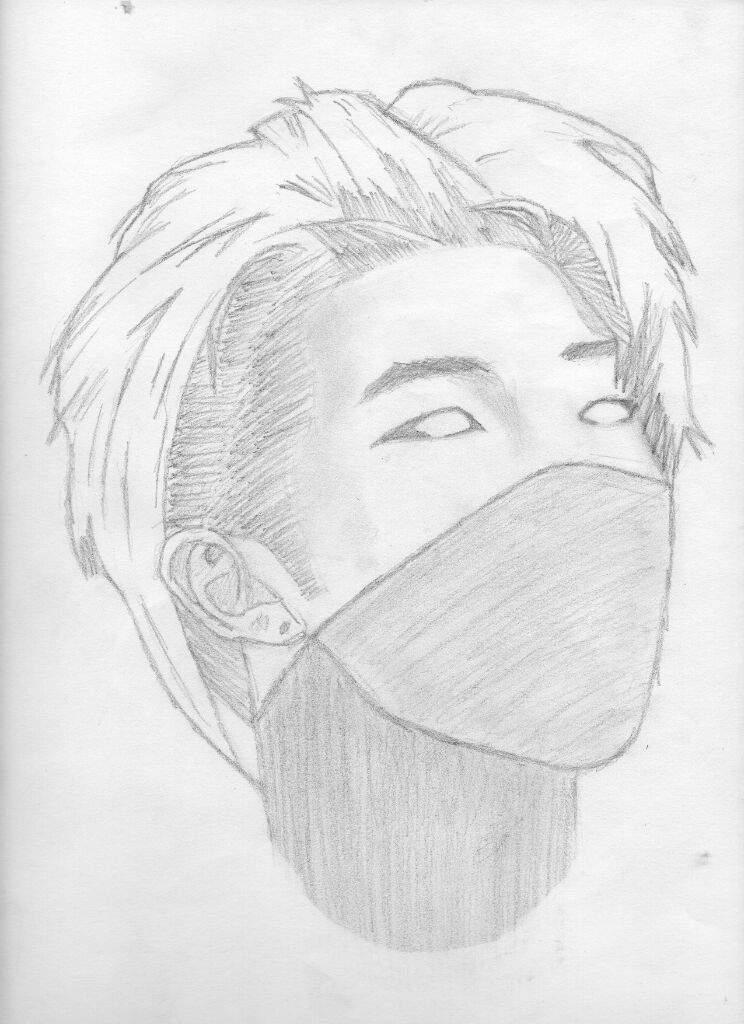 51 best BTS Rap Monster Fanart || Fan Art images on ... |Namjoon Bts Anime