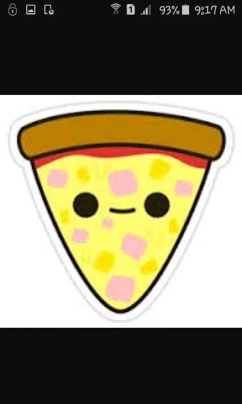 Pizza Kawaii Fofura Total Kawaii Ptbr Amino