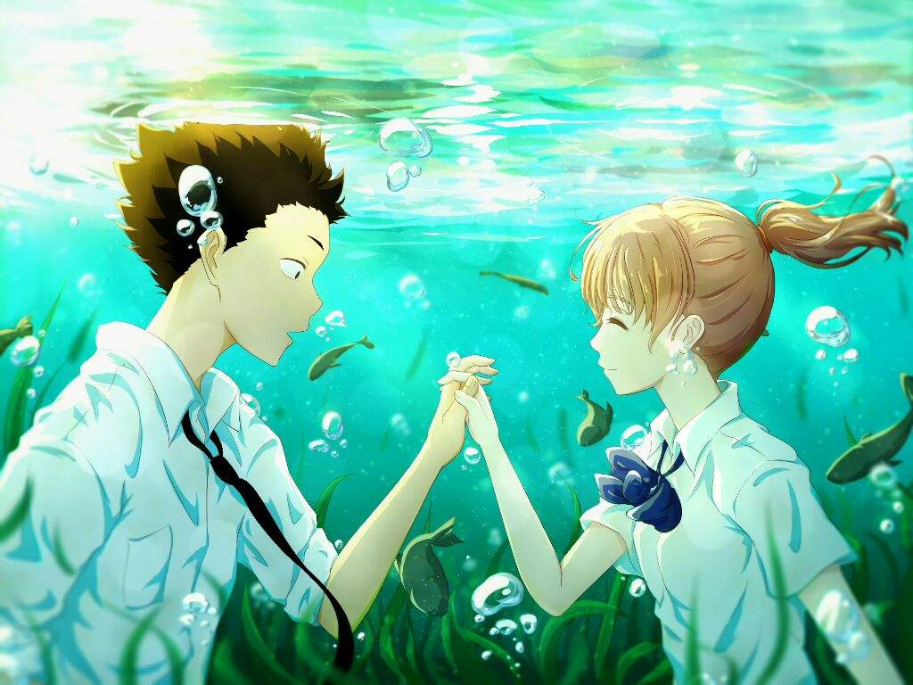 Wallpapers Full Hd Películas Koe No Katachi Anime Amino