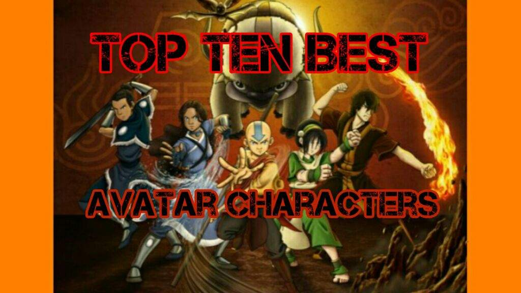 All not Avatar the last airbender fan characters not