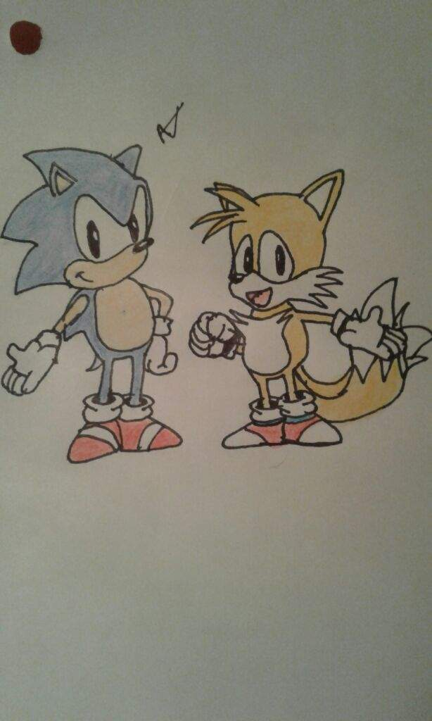 Classic Sonic And Tails Drawing Sonic The Hedgehog Amino