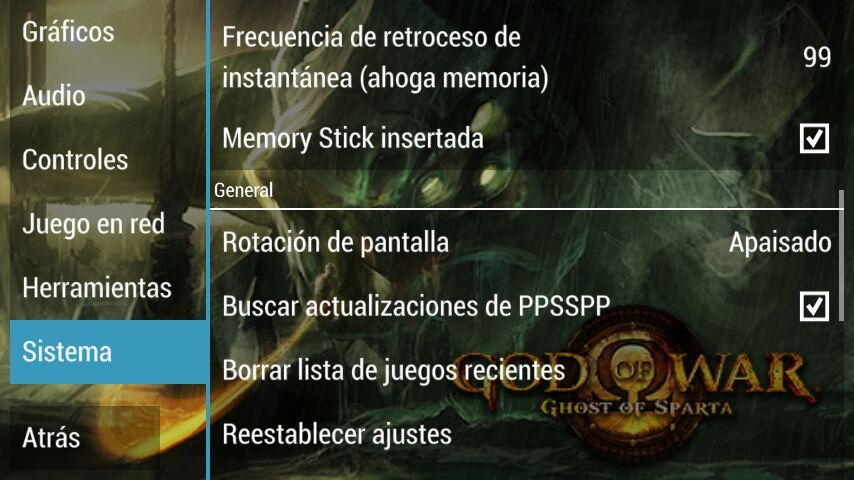 God of war ghost of sparta apk mega + la mejor configuración