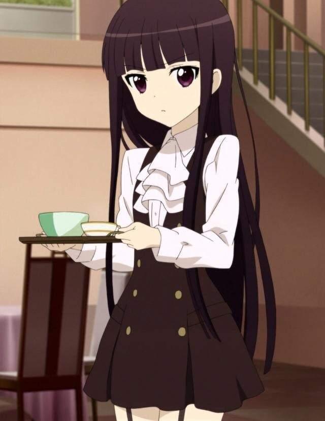 Ririchiyo Shirakiin Character Blog Inu X Boku Ss Kawaii Amino Amino