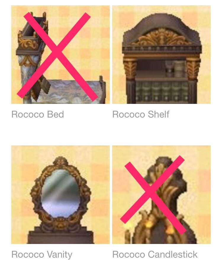 Rococo Series Help Animal Crossing