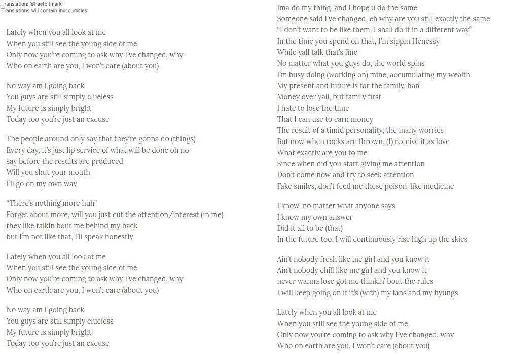 Lyric ain t no way lyrics : Yugyeom + JJ Project | GOT7 Amino
