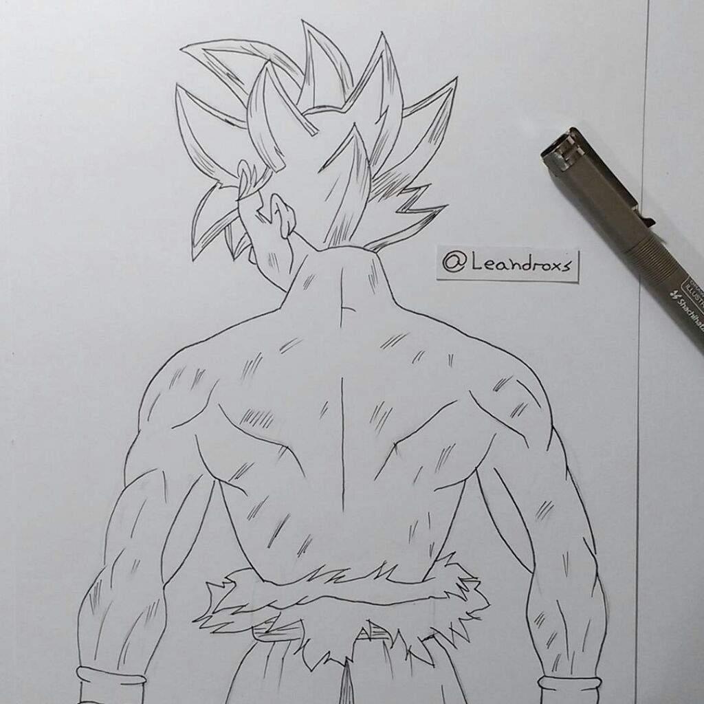 Tutorial Como Dibujar A Goku Limit Breaker Arte Amino Amino