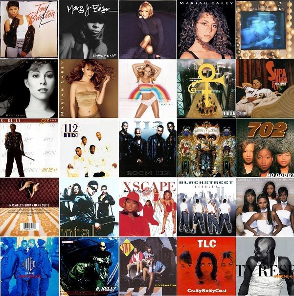 Which 90s And Early 2000s R&B Singer Do You Like?