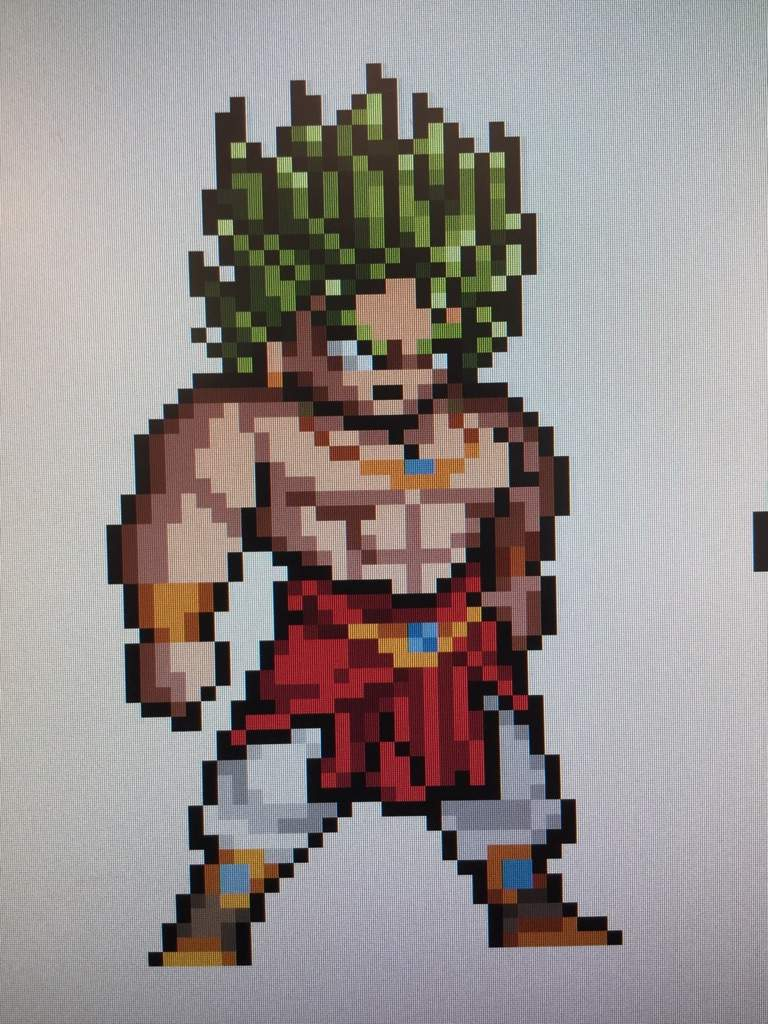 Kale Broly And Custom Request Sprites Dragonballz Amino