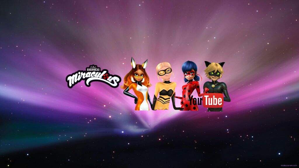 "Modelo De Capa Do Youtube Com 2048 X 1152: ""Cambia Tu Portada De YouTube""🌈🐞"