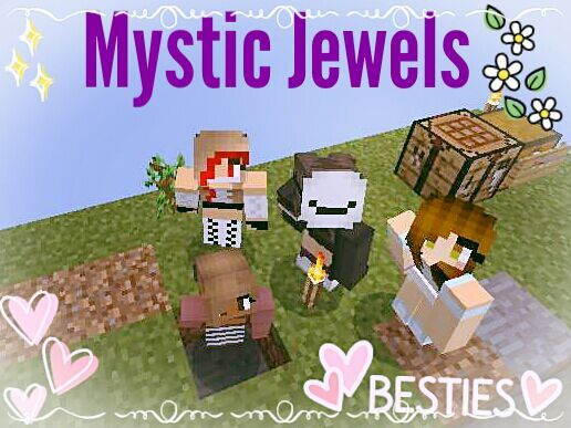 Our New Youtube Channel The Mystic Gemz | Minecraft Amino