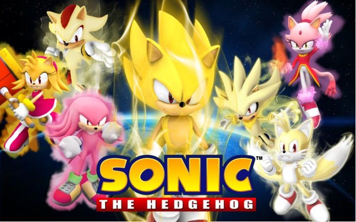 Super Forms Poster Fan Made By Me Sonic The Hedgehog Amino