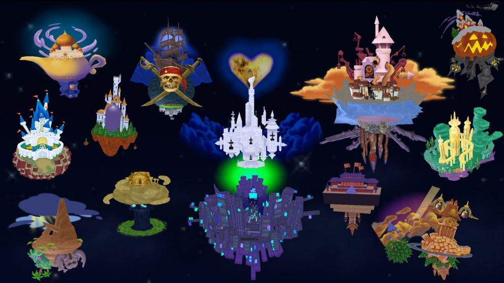 kingdom hearts cable town